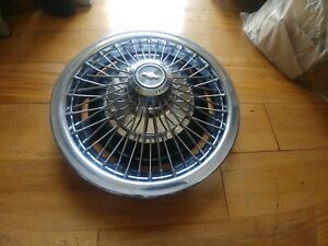 14 Wire Spoke Hubcap Wheelcover Chevy 1 1967 1968 Used Oem H 3002 P 03908761