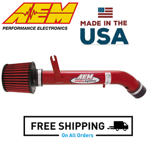 Aem Short Ram Aluminum Cold Air Intake System For 92 00 Honda Civic 1 5l 1 6l