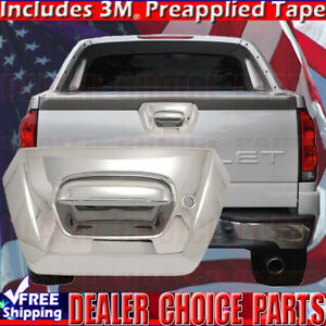 2002 2006 Chevy Avalanche 1500 2500 Chrome Tailgate Handle Cover With Key Hole