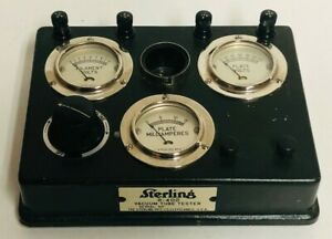 Tested Sterling R 402 Vacuum Tube Tester Very Good Condition