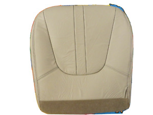 2000 2001 2002 Ford Expedition Ed Bauer Driver Bottom Leather Seat Cover Tan
