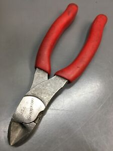 Snap On Tools Pliers Side Cutters 6 Red Handles 86cf