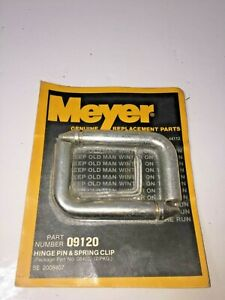 Meyer No 09120 Hinge Pin Spring Clip Pair Snow Plow Replacement Parts Truck