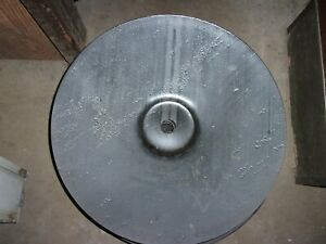 22 Disc Blade With 1 1 2 Round Center Hole 3 16