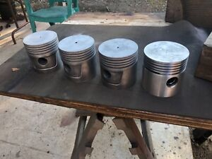 Case Sc Tractor Engine Aluminum Pistons Sleeves So Sc Si S Se