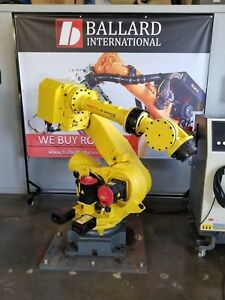 Fanuc R 2000ib Robot System Complete W R30ia Cabinet Low Hours
