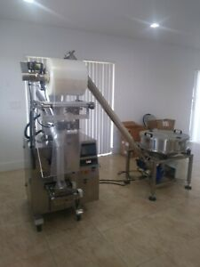 Powder Form Fill And Seal Fast Vertical Packaging Pouch Machine