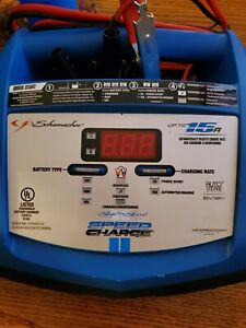 Schumacher Xcs15 Ca Ship N Shore Speed Charge 15a 12v Fast Battery Charger