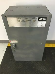 Asco 94033099c Automatic Transfer Switch With 44042 s 4 Control Panel at 81