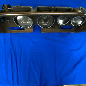 71 72 73 74 Charger Road Runner Satellite Gtx Rallye Dash Gauges Cluster Bezel