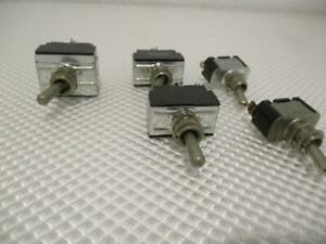 One Used Lot Of 5 Carling Toggle Switches