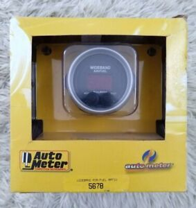 Autometer 5678 5679 Wideband Air Fuel Ratio W Installation Kit And O2 Sensor