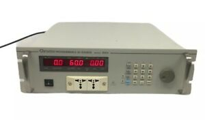 Chroma 6404 Programmable Ac Power Source With Gpib Rs 232 Apg Card 6817