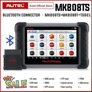 Autel Maxicom Mk808ts Diagnostic Scanner Code Reader Scan Tool All Systems Immo