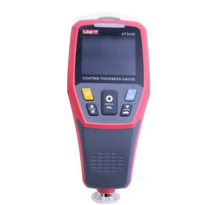 Uni t Ut343d Digital Coating Thickness Gauge Car Paint Coating Thickness Tester
