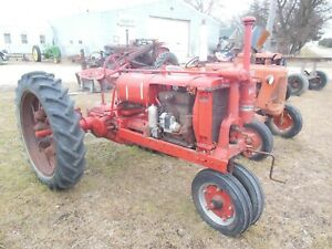 International Harvester Farmall F 12 F12 Tractor Rebuilt Running Engine
