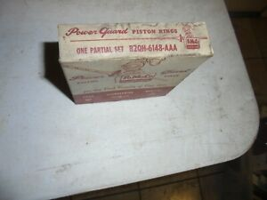Nos Oem Ford 1949 1948 V8 Piston Rings1950 1951 1952 B2qh 6148 aaa