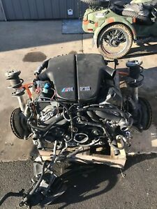 2007 Bmw M6 E63 E64 S85b50 80k Miles Engine With Transmission And Front Axle