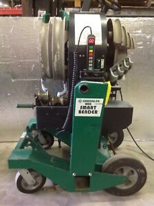 Nice Greenlee 855 Conduit Electric Smart Bender Pipe 1 2 2 Rigid Emt