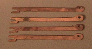 1928 1931 Model A Ford Brass Spark Plug Wire Set Of Four 4