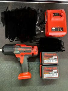 Snap On Ct8850 1 2 Cordless Impact With Charger 2 Batteries Excellent Cond