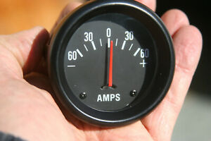 Vintage 2 5 8 Amp Gauge Perhaps Made By Autometer