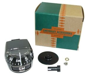 1965 Thru 1972 Universal Gm Fullsize Pass Car Accessory Compass Replaces 983335