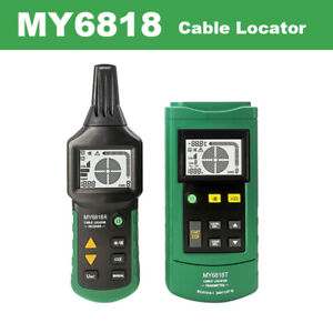 My6818 Cable Wire Tracker Locator Network Line Metal Pipe 12v 400v Ac dc Tester
