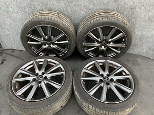 Lexus 13 15 Gs350 F Sport 19 Wheels Rims Tire Set Sport Factory Staggered Oem