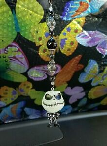 Nightmare Before Xmas Jack Rearview Mirror Car Hanger Christmas Ornament Charm