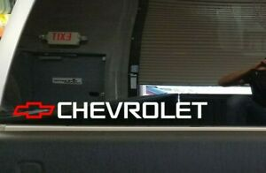 Chevrolet Decal Window Sticker Chevy Camaro Ss Hd 1500 Bed Tailgate Graphics