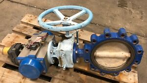 Abz 12 Resilient Seated Lug Type Actuated Butterfly Valve Model Da 145 14