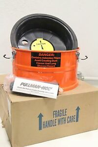 Pullman holt Dry wet Hepa Asbestos Pick up Vacuum Adapter Extension Tank