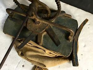 C1800 S Mechanical Seed Spreader Original Early Dry Blue Paint
