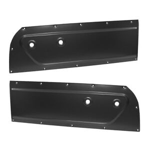 1955 1957 1958 1959 Chevrolet Gmc Truck Metal Door Panels Set Of 2 Primered