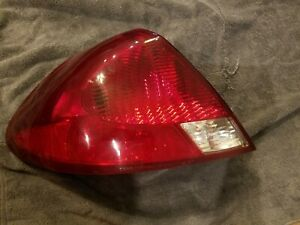 Fits Ford Taurus 2000 2003 Tail Light Tail Light Assembly Drivers Side