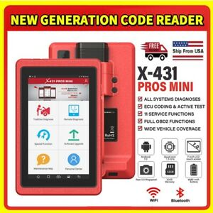 Launch X431 Pros Mini Full System Ecu Coding Obd2 Scan Tool Automotive Scanner