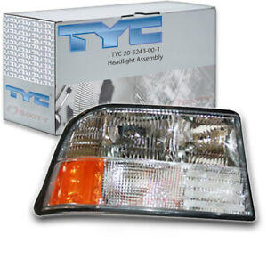 Tyc 20 5243 00 1 Headlight Assembly For General Motors 16526228 Fq