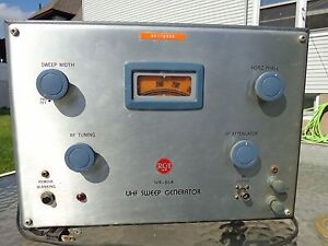 Vintage Very Good Condition Rca Wr 86a Uhf Sweep Generator