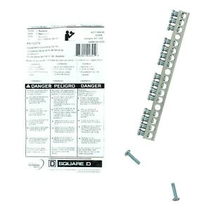 Square D Load Center Equipment Ground Bar Assembly 15 Terminals Pk15gta