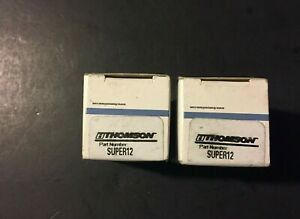 new Lot Of 2 Thomson Super12 Closed Round Rail Ball Bushing in Box