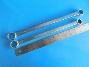 Used Mac Tools 3 4x7 8 In 13 16x15 16 In Long Offset Box Wrenchs lot Of 2