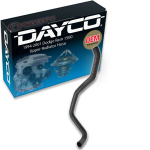 Dayco Upper Radiator Hose For 1994 2001 Dodge Ram 1500 3 9l V6 Engine Vd