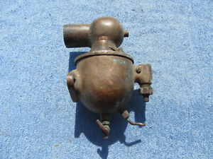 Early Brass Schebler Carburetor Original Vintage