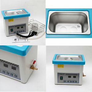 Dental Lab Handpiece Digital Ultrasonic Cleaner Cleaning Ultrasound Unit Sale Aa