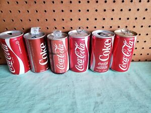12 Coca-Cola Vintage Mixed Cans Collection