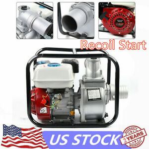 4 Stroke Gas Powered Water Transfer Pump 3 inch 7 5 Hp Water Pump 210cc Engine