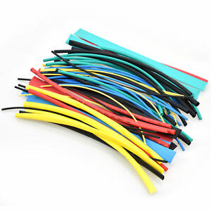 56pcs Cable Heat Shrink Tubing Sleeve Wire Wrap Tube 2 1 Assortment Kit 225mm
