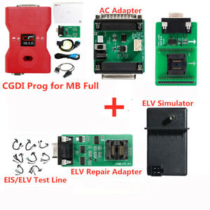 Cgdi Prog Mb Benz Car Key Programmer Support All Key Lost With Full Adapters