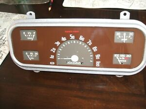 1937 Chevy Gauges Rebiult 12 Volts Ready Or 6 Volts Too